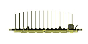 Modulo LED 30-80W 150º V3SEP13-02BW 600x300