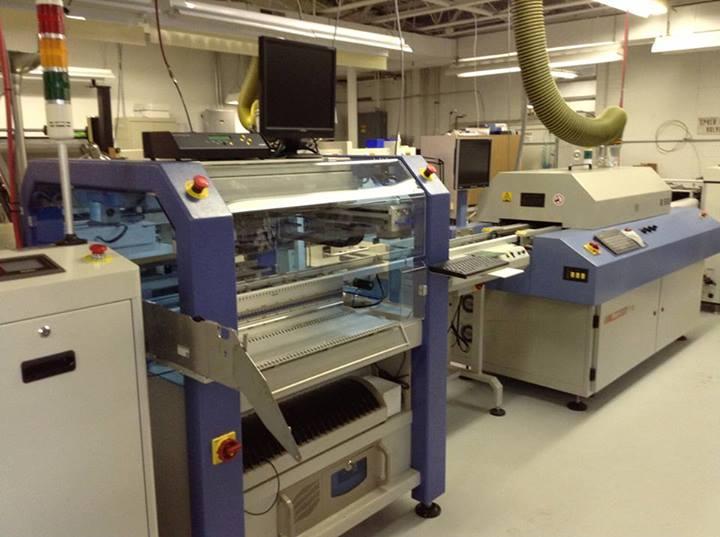 Linea automatizada JUKI fabricacion modulos led 02