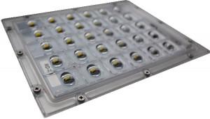 Modulo-led-Lente-y-soporte-chapa-zoom-completo-600x400