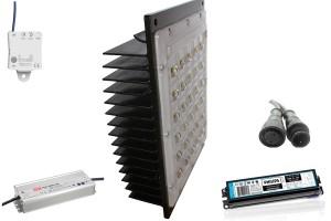 Modulo LED componentes