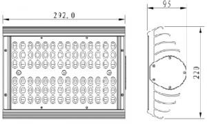 Dibujo-Modulo-84-LEDs-Nichia-70-a-100W-disipador-alto-rendimiento