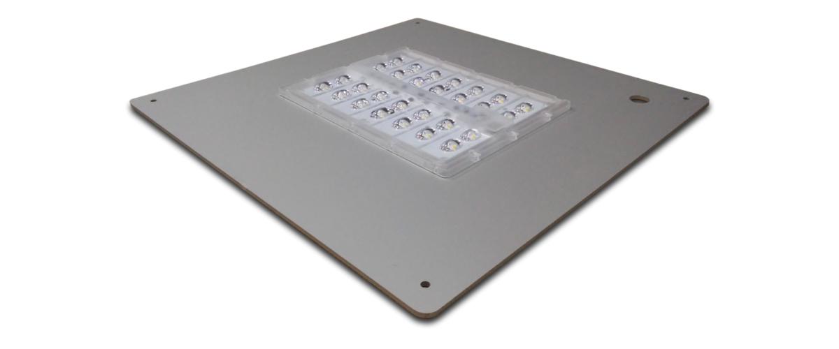 28-30-42 diodos - Philips Luxeon 5050 - Hasta 169 lm/W REALES - 6.480 lumen REALES – 40W – 4000ºK – 42 diodos - De 20 a 145W - Reciclado Retrofit Módulo LED Luminarias Viales