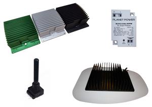 Diferentes opciones productos Planet Power usados en nuestros modulos